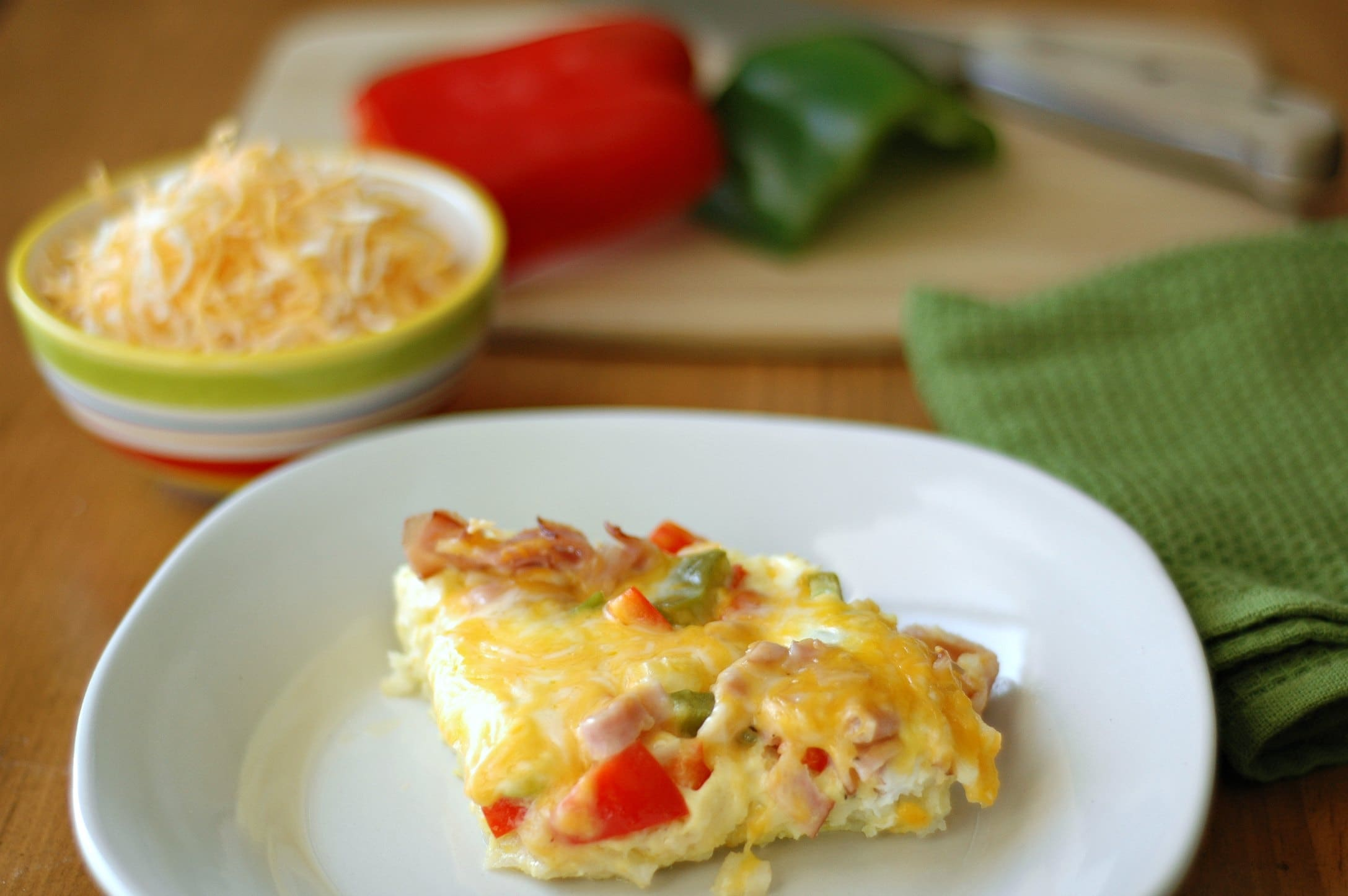 Slow Cooker Denver Omelette Casserole