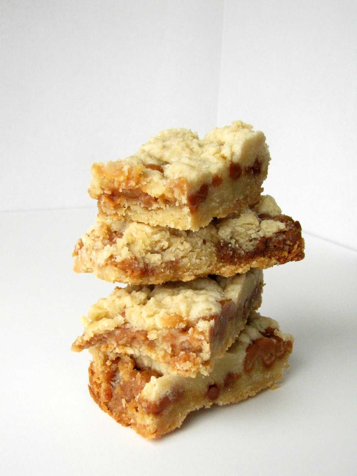 Stacked Salted Caramel Cookie Bars