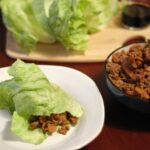 Slow Cooker Spicy Asian Pork Lettuce Wraps