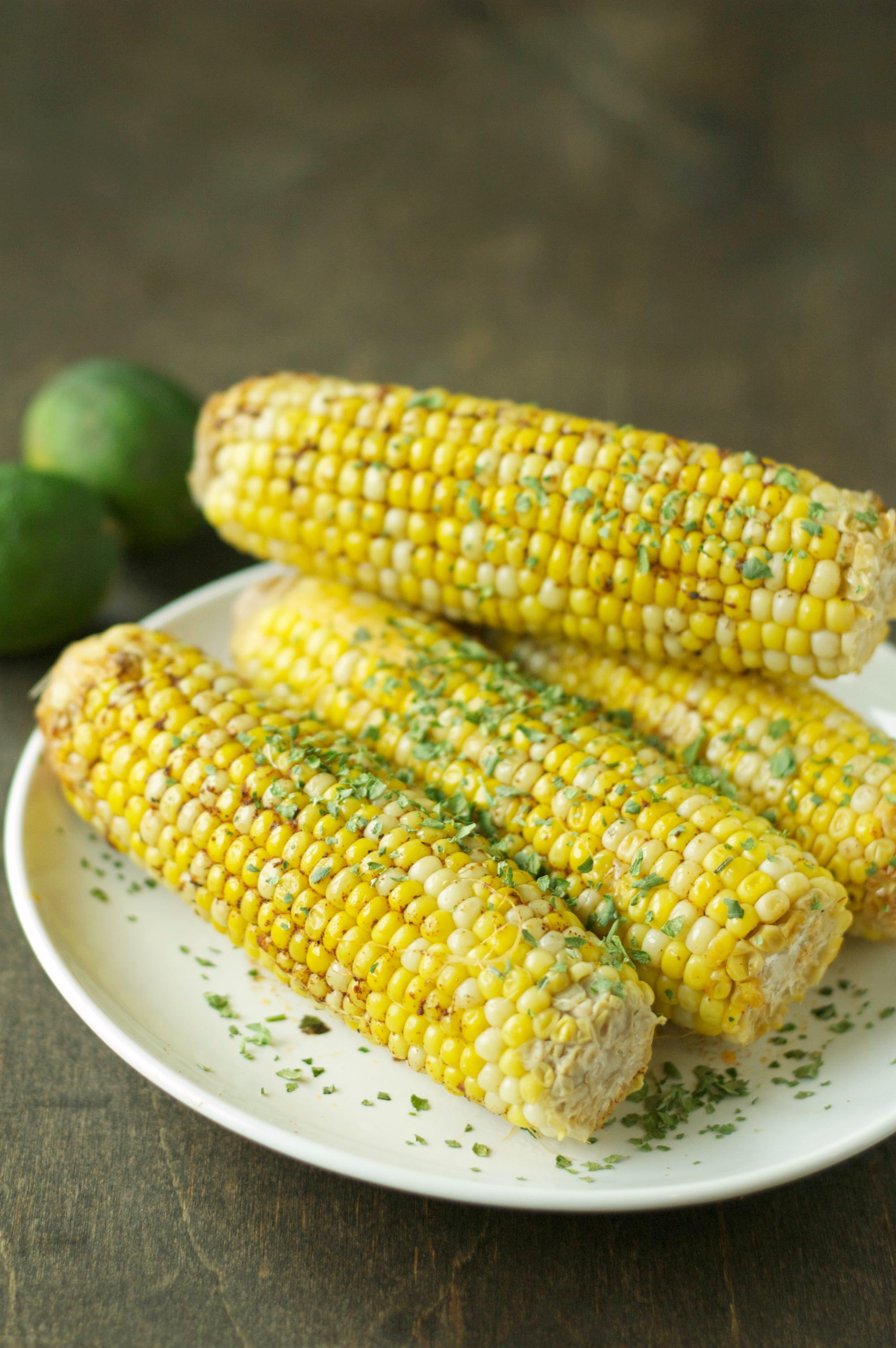 Crockpot Corn on the Cob with Chili Lime Butter | Crockpot ...