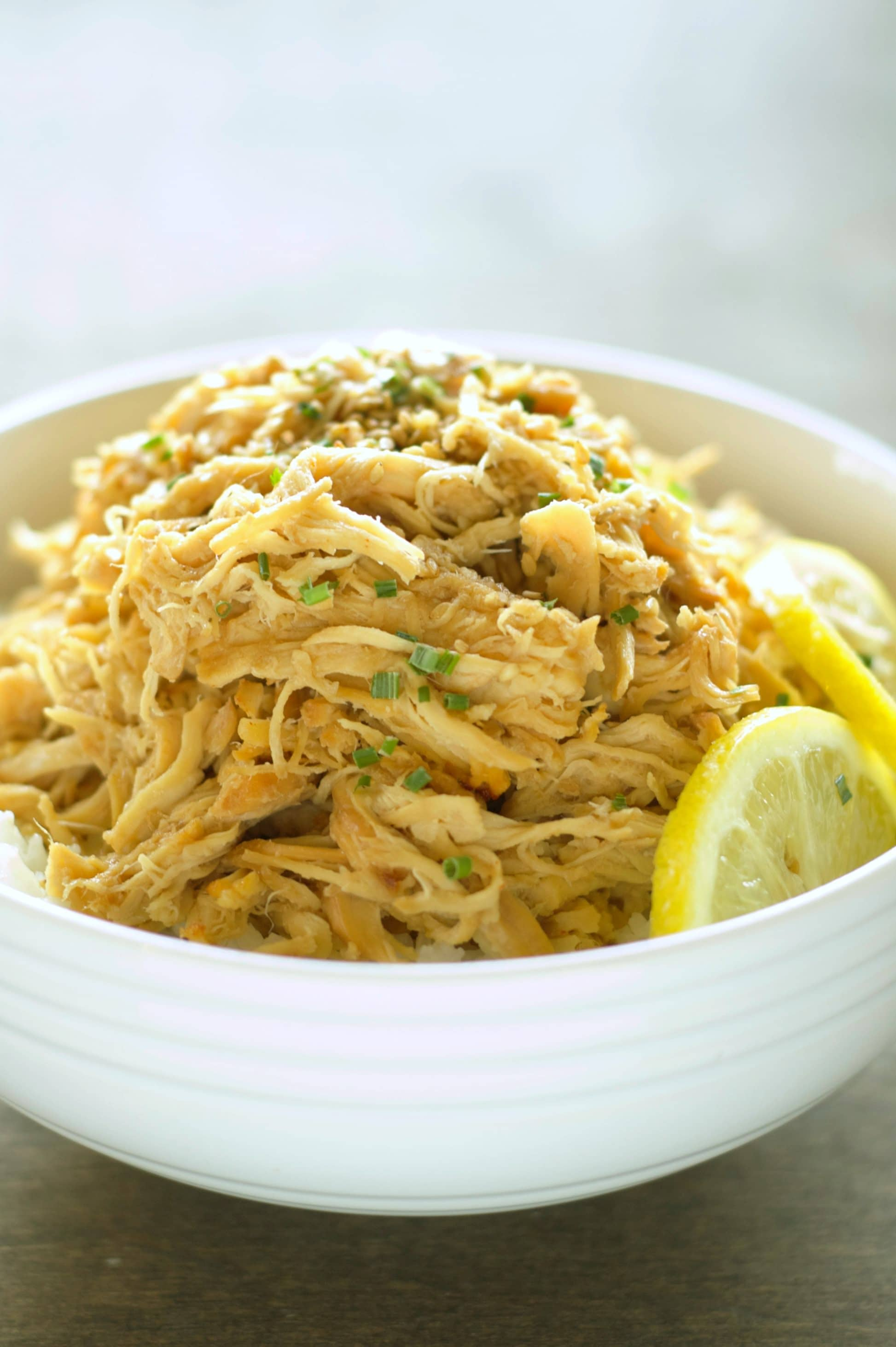Crockpot Lemon Chicken