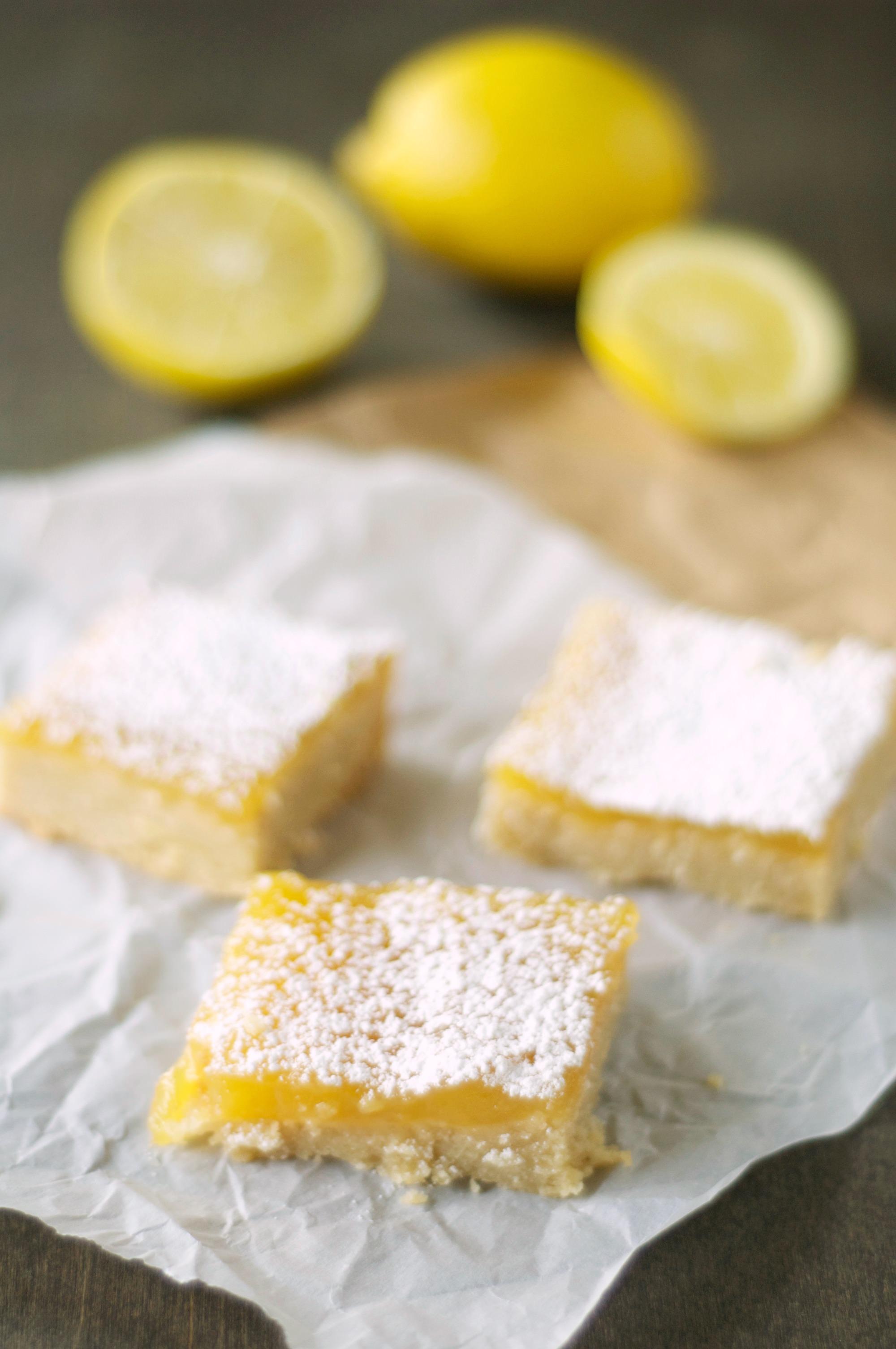 Crockpot Lemon Cookie Bars
