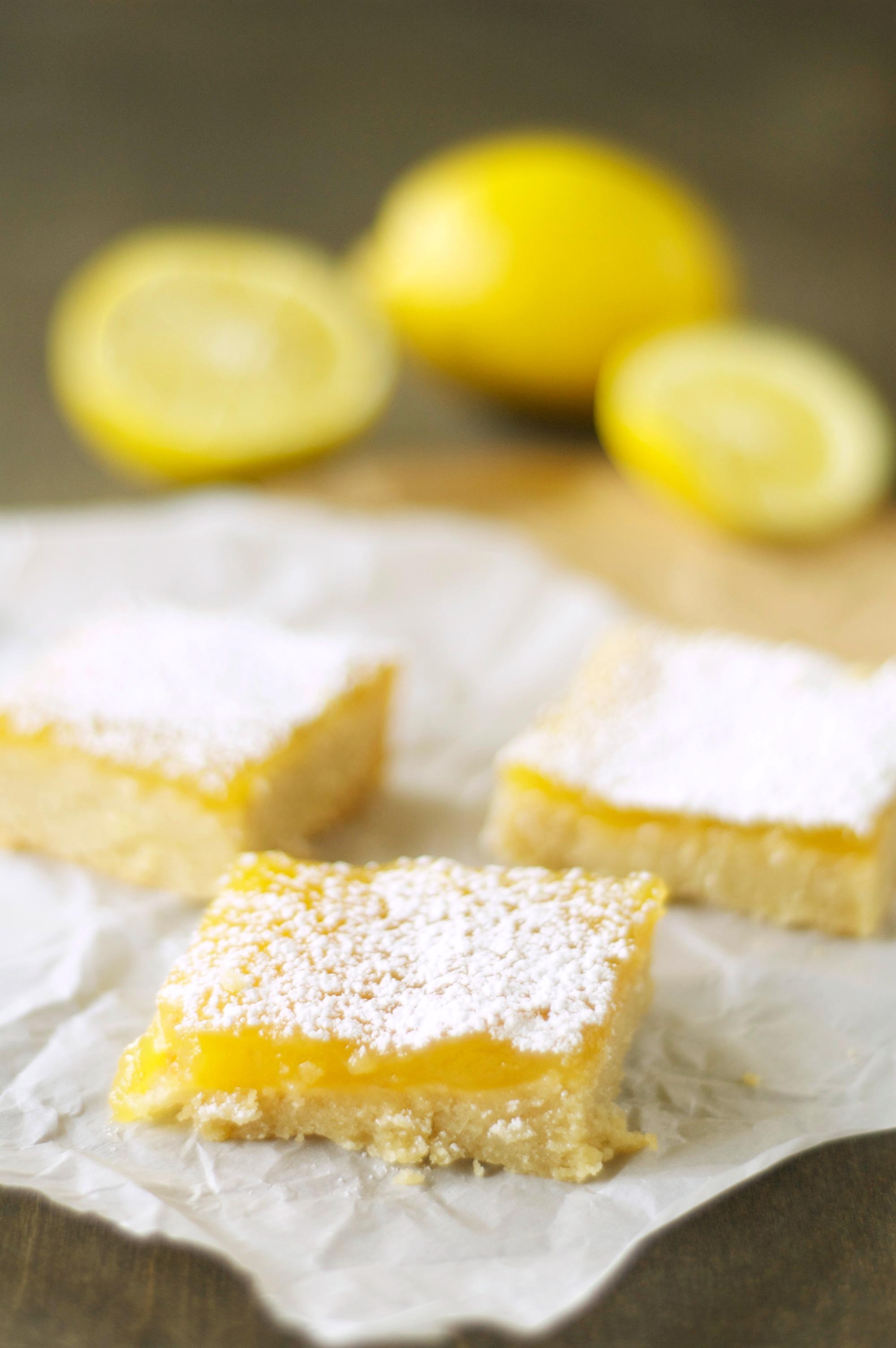 Slow Cooker Lemon Cookie Bars