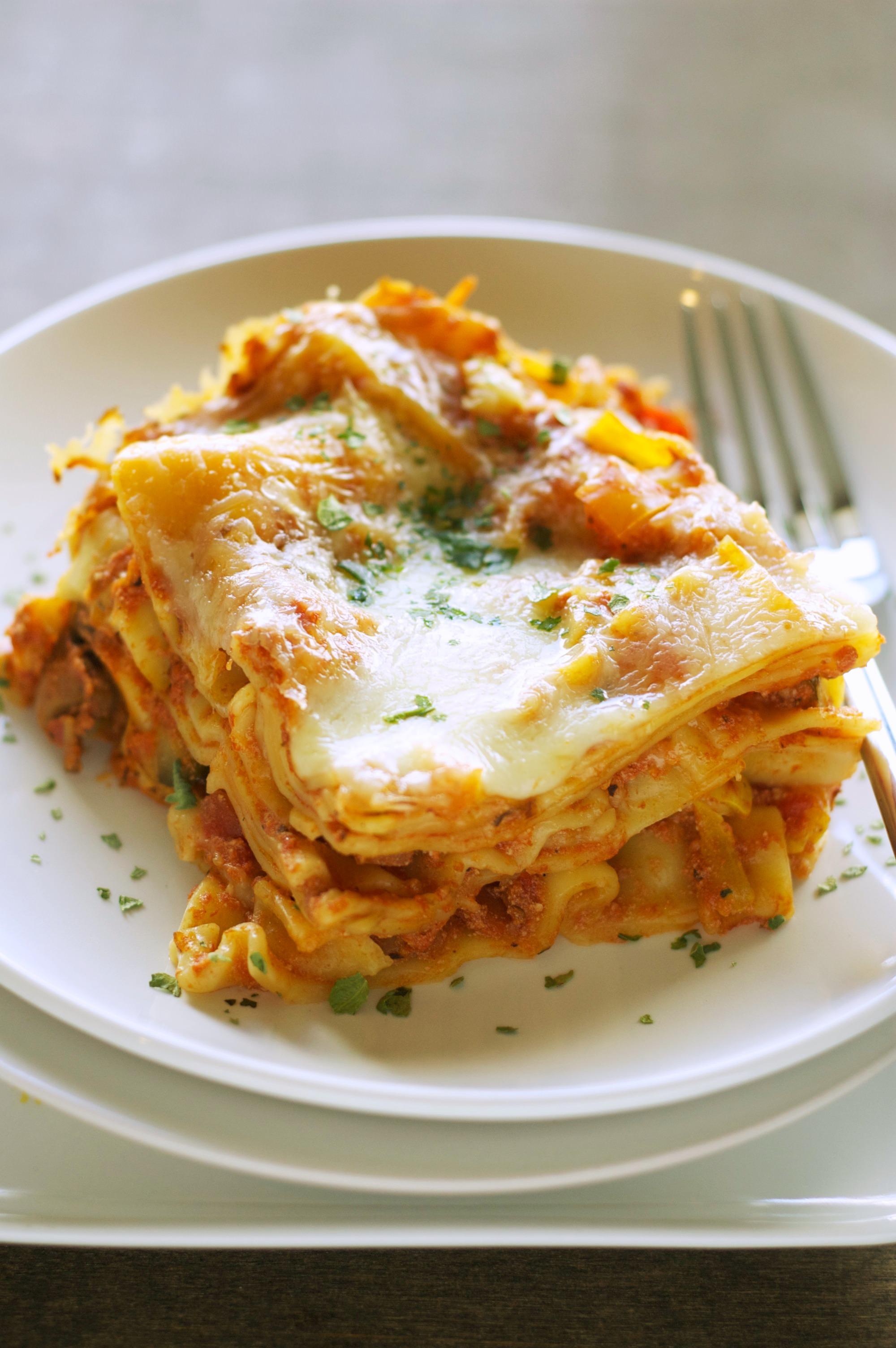 Freezer Meal: Crockpot Veggie Lasagna | Crockpot Gourmet