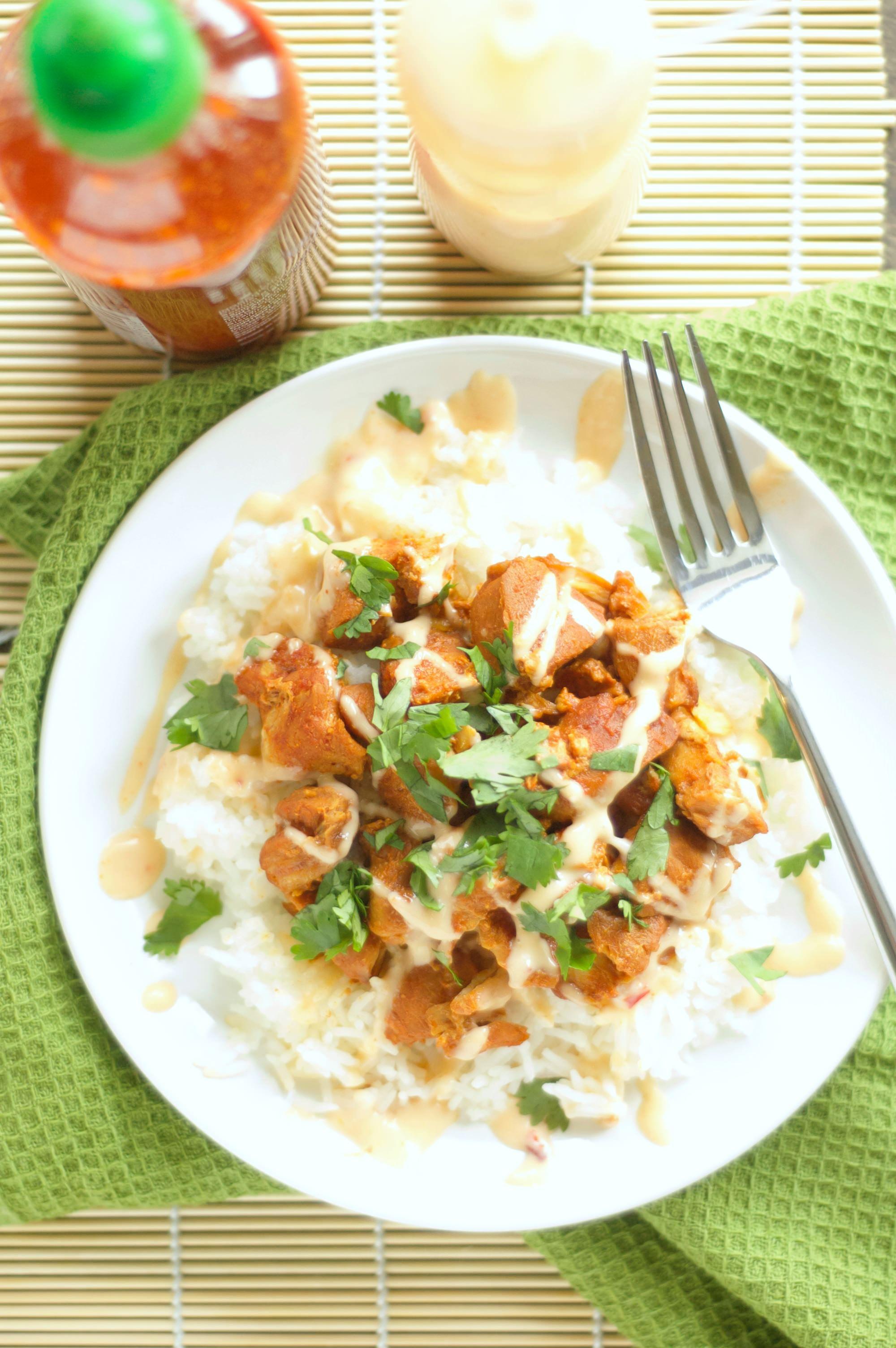 Crockpot Honey Sriracha Chicken (3)
