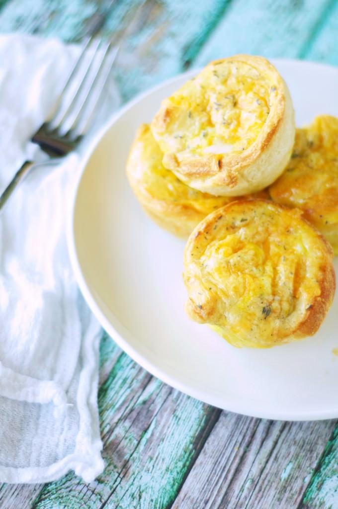 Breakfast Crescent Puffs