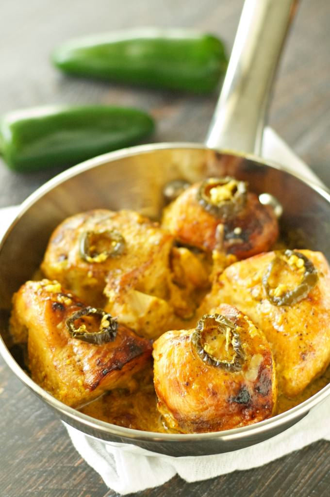 Slow Cooker Honey Jack Jalapeno Chicken