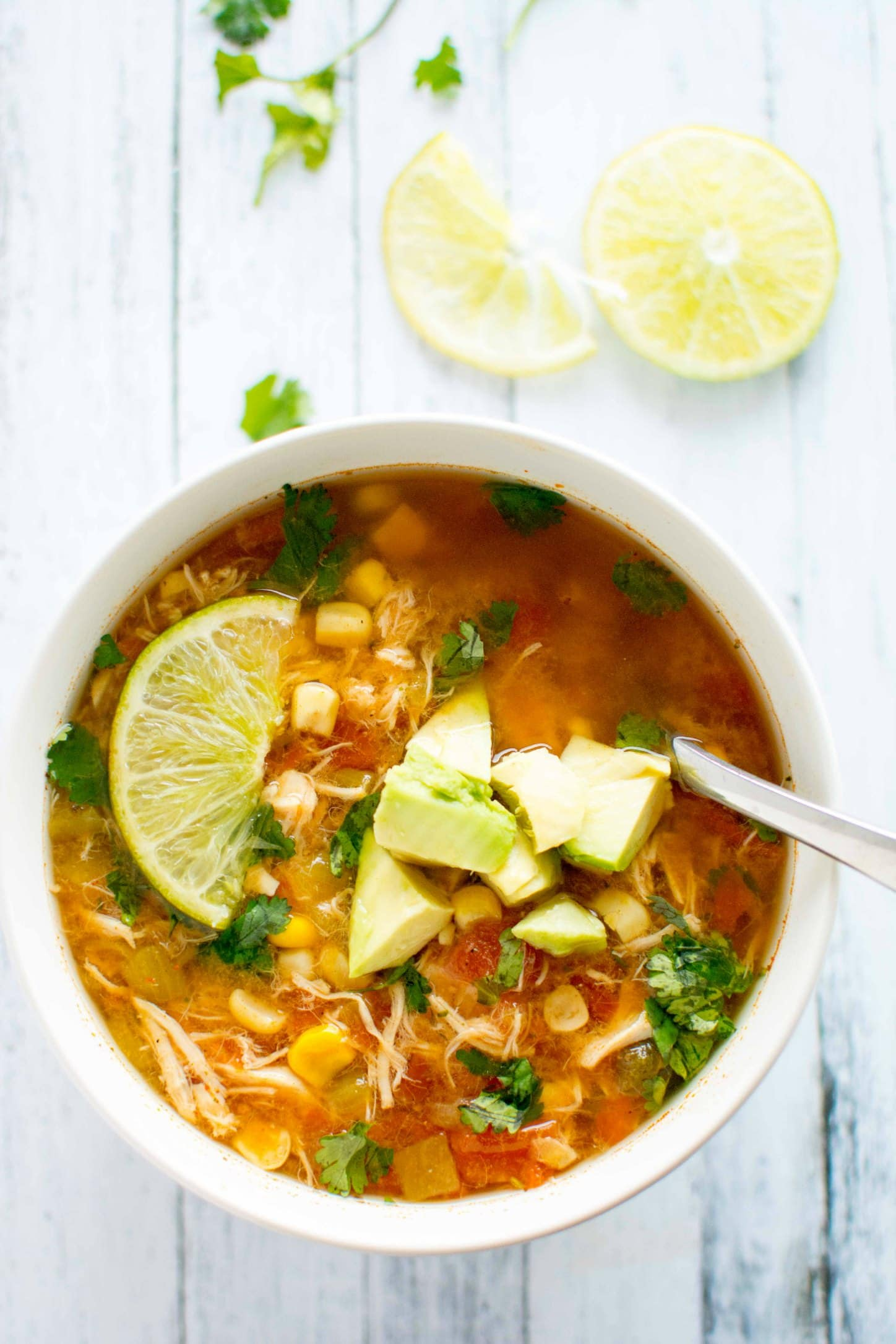 Slow Cooker Spicy Chicken Soup Slow Cooker Gourmet