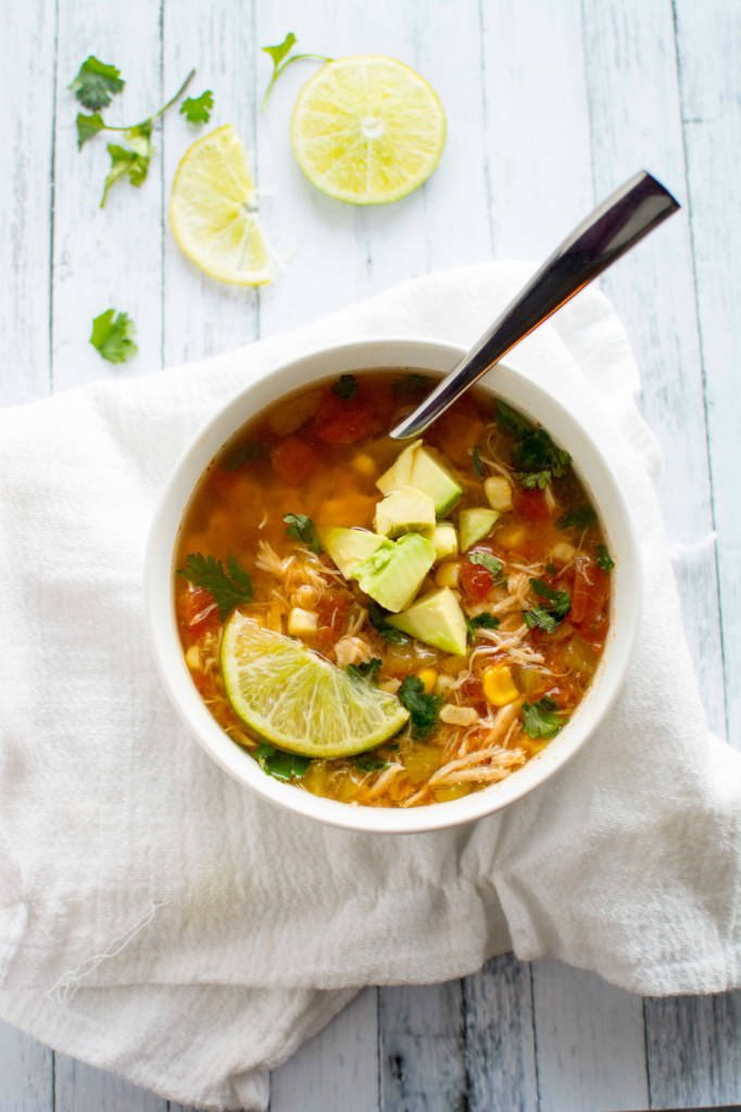 Crockpot Spicy Chicken Soup