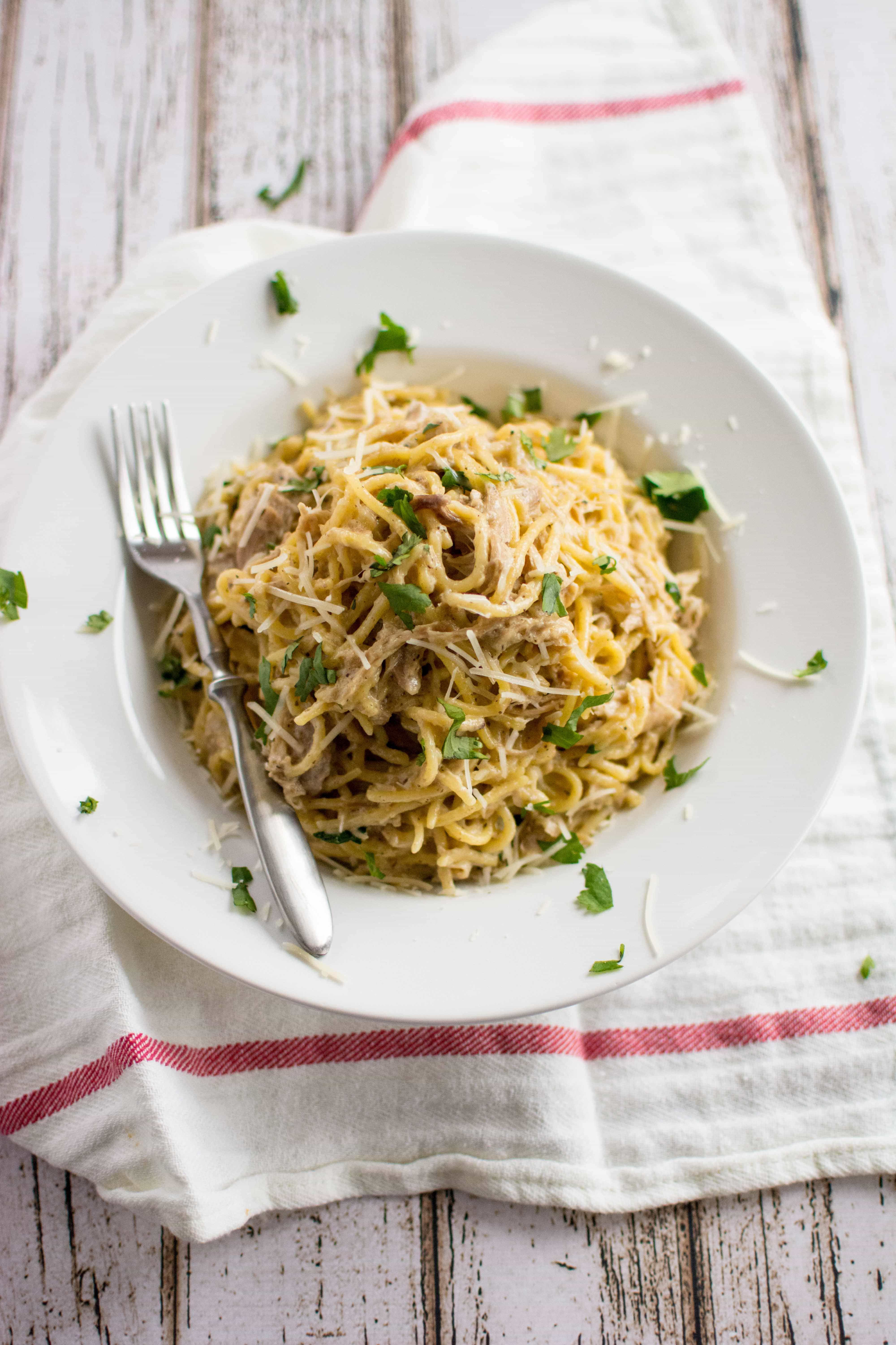 Slow Cooker Simple Chicken Spaghetti Slow Cooker Gourmet