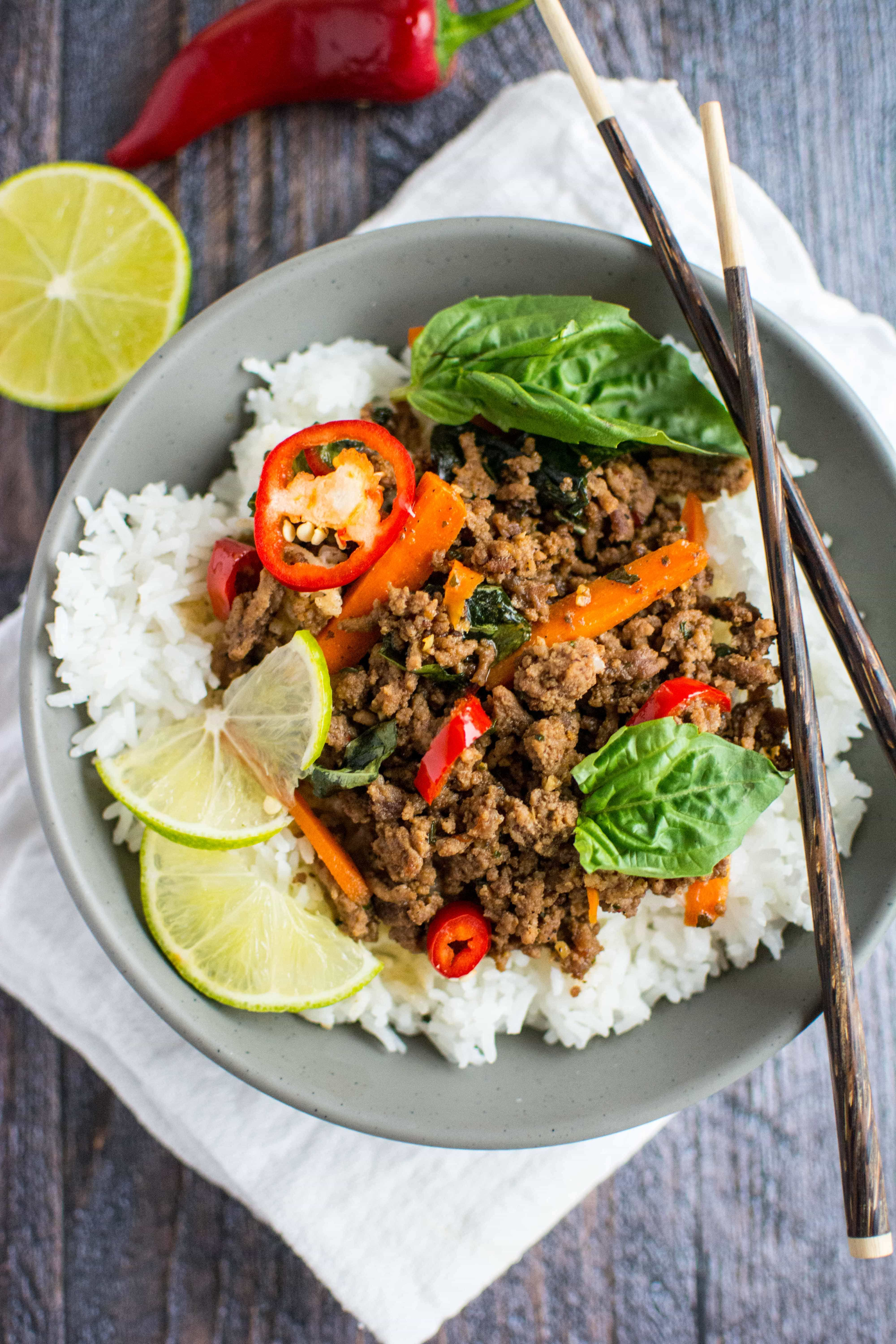 Quick Fix Meal Thai Basil Beef Slow Cooker Gourmet