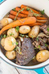 Crockpot Balsamic Roast