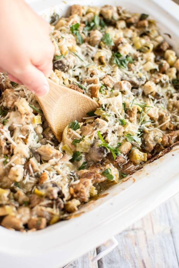 Slow Cooker Fresh Herb Chicken Casserole