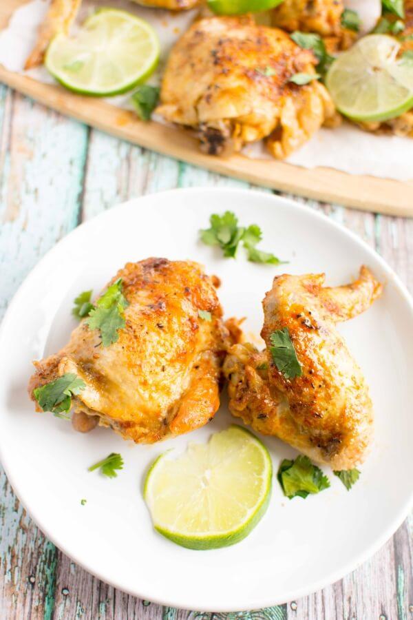 Crockpot Spicy Lime Chicken