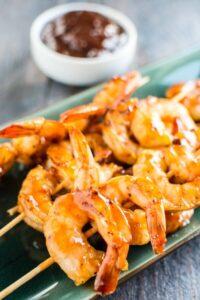 Raspberry Chipotle Shrimp