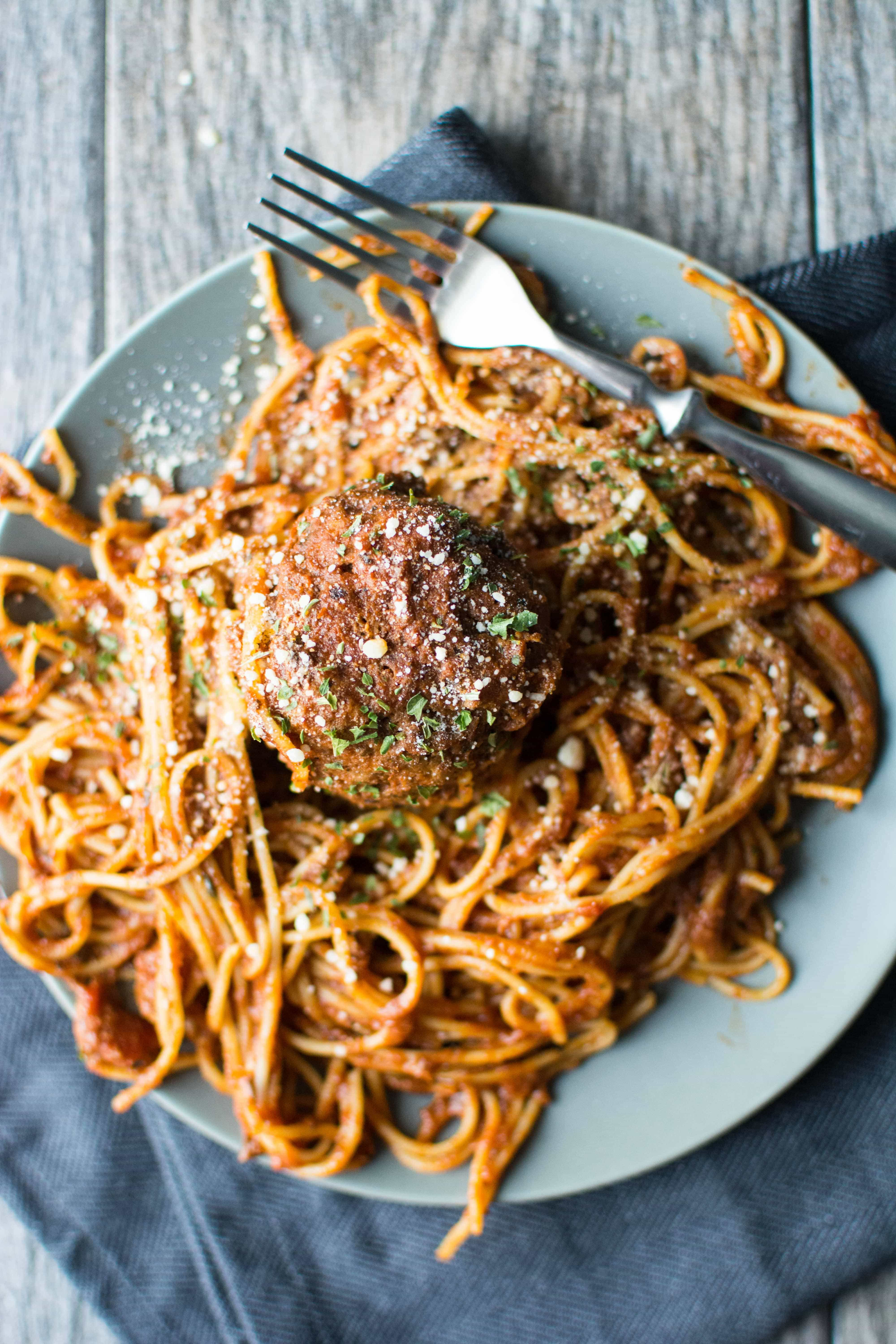 Slow Cooker One Pot Spaghetti Amp Meatballs Slow Cooker Gourmet