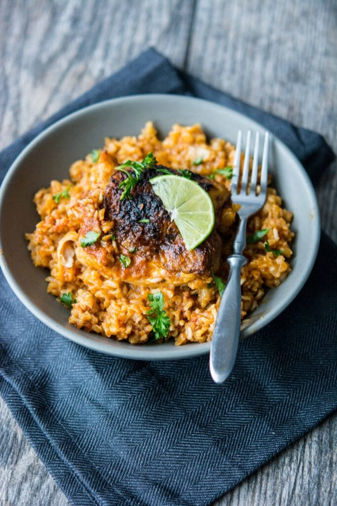 Slow Cooker Southwest Chicken and Rice
