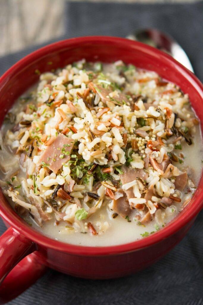 Lunch Crock Warmer Chicken Soup