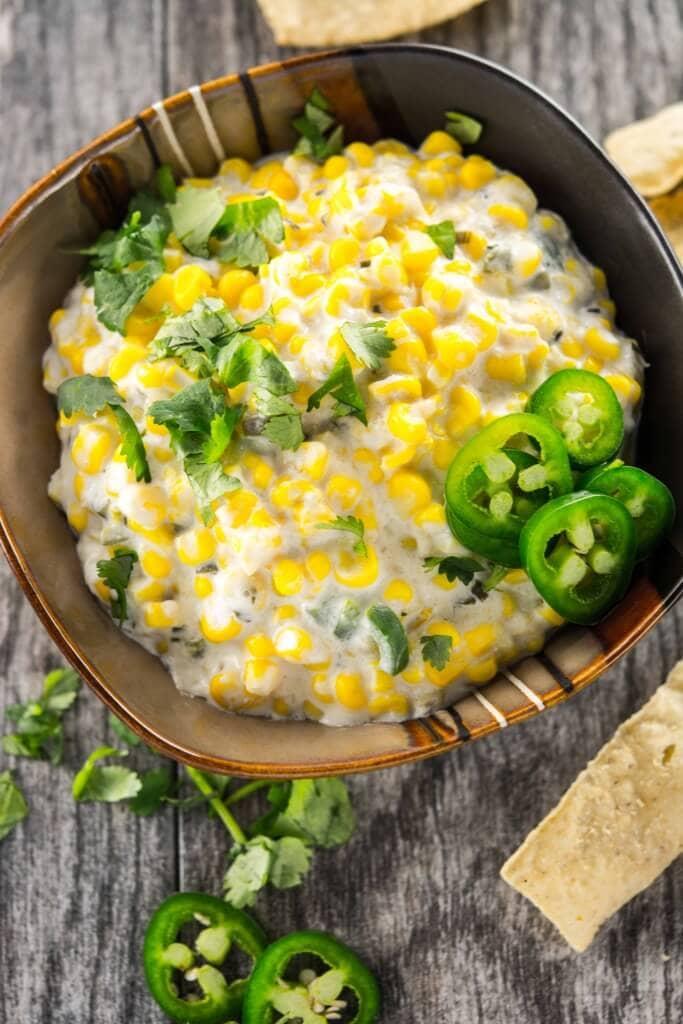 Slow Cooker Jalapeno Corn Dip