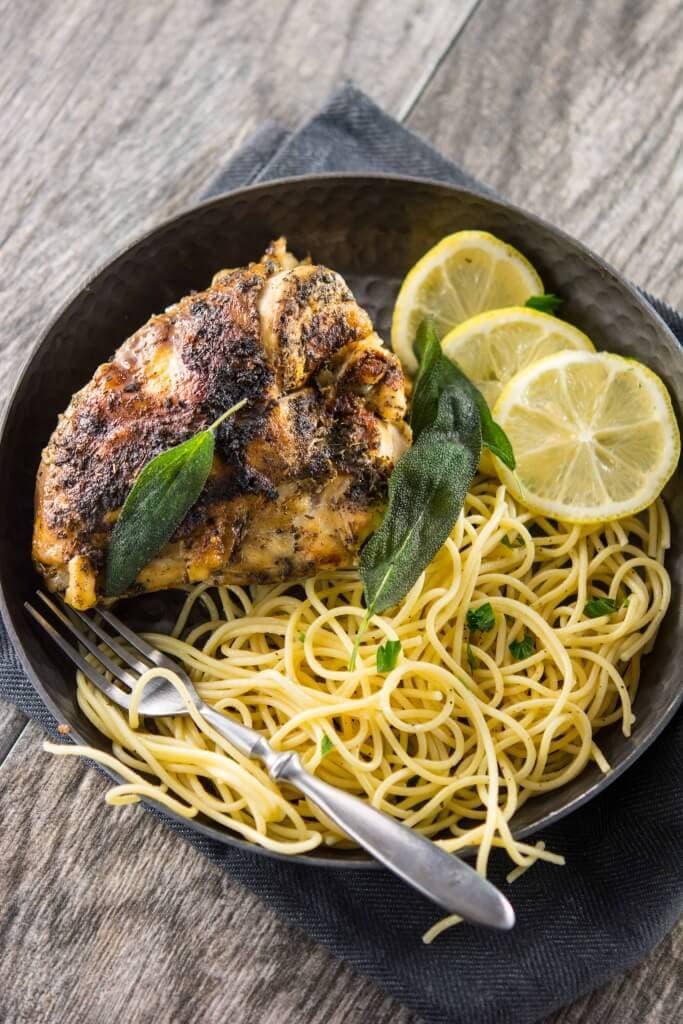 Slow Cooker Sage Butter Chicken