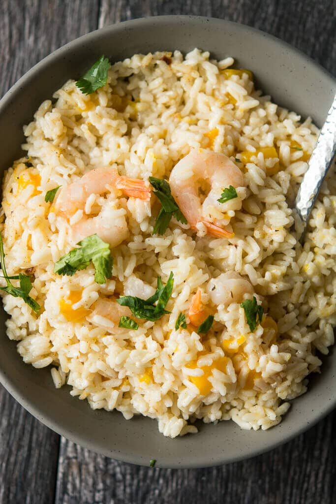 Lunch Crock Coconut Mango Shrimp