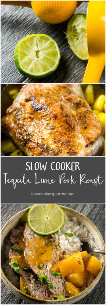Slow Cooker Tequila Lime Pork Roast