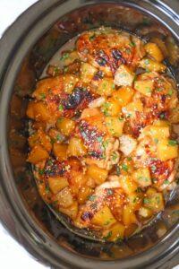 Slow Cooker Pineapple Chicken