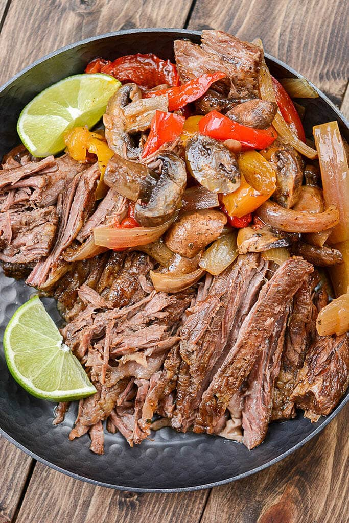 Slow Cooker Steak Fajitas