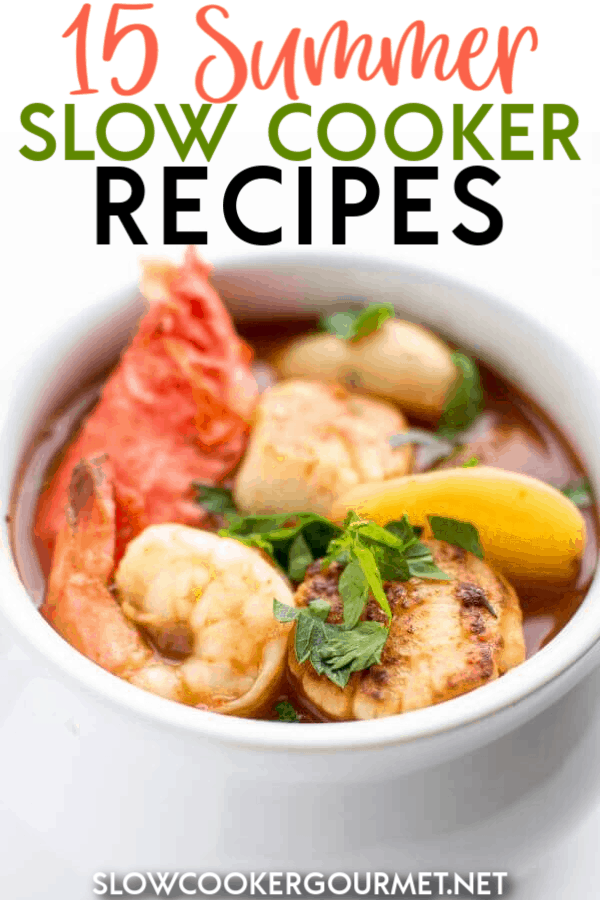 Summer is filled with fun gatherings with family and friends.  Sometimes figuring out what to take can be a challenge... but why not use your slow cooker at your next pot luck?  From baked beans to corn on the cob, I think you'll love these summer side dish recipes you can make in your slow cooker! #slowcooker #summerrecipes