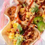 Slow Cooker BBQ Pulled Pork Tacos