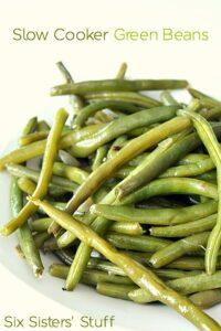 Slow Cooker Green Beans