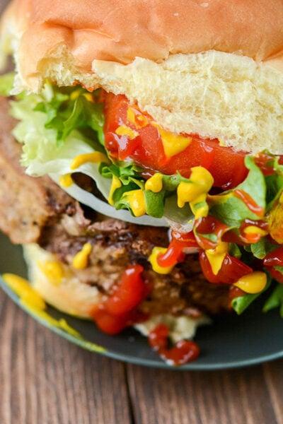 Slow Cooker Meatloaf Burger