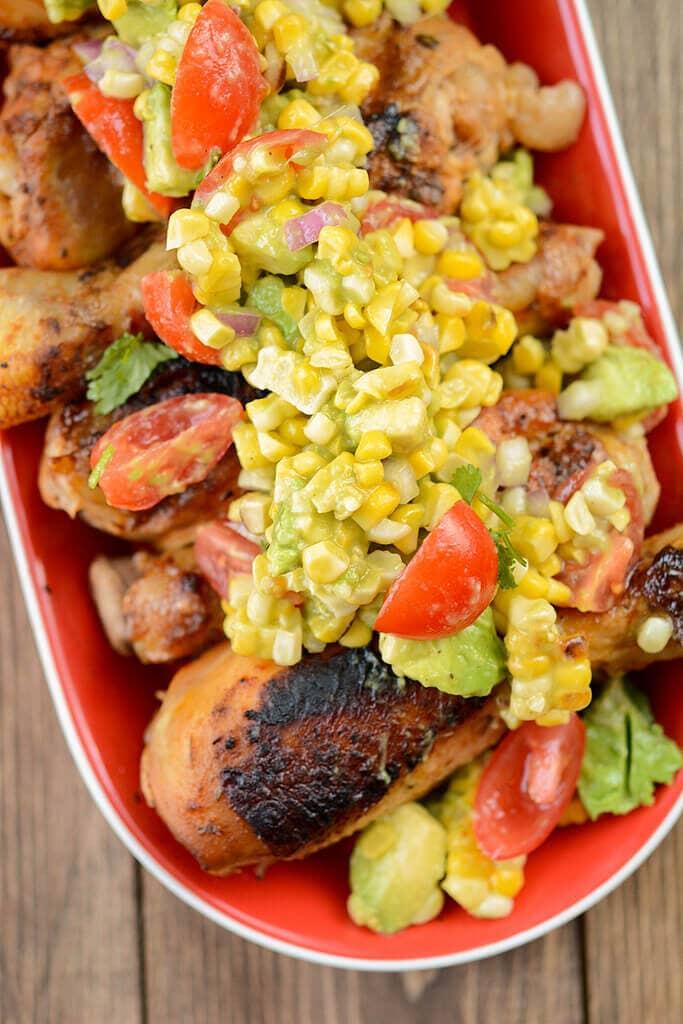 Slow Cooker Southwest Chicken Drumsticks