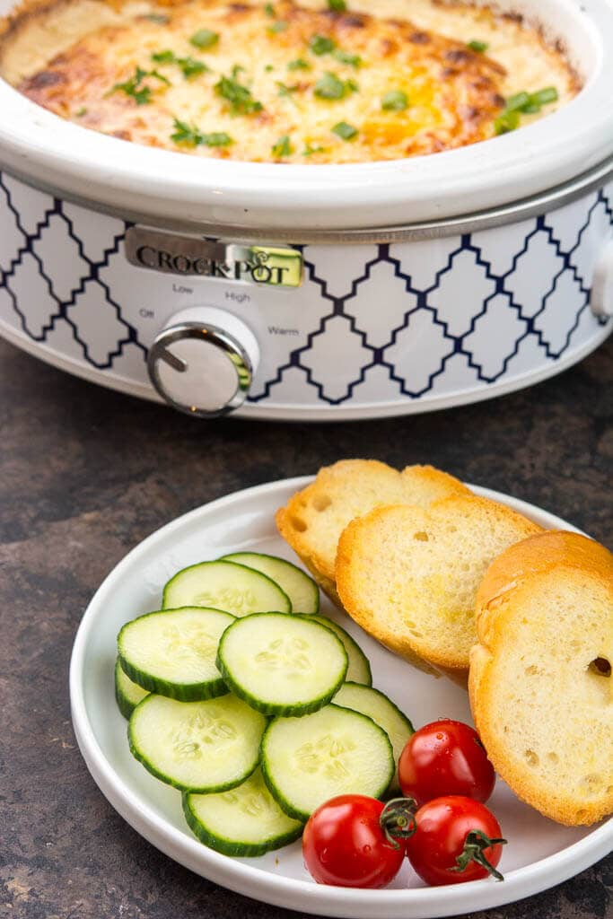 Crock-Pot Caramelized Onion Dip