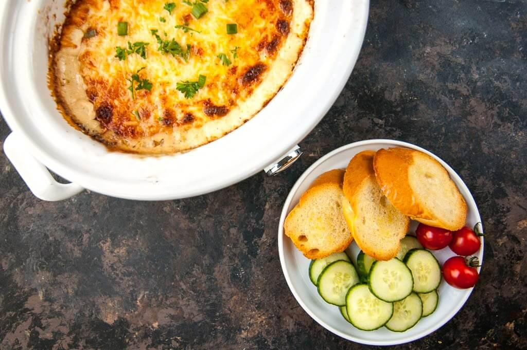 Crock-Pot Caramelized Onion Dip