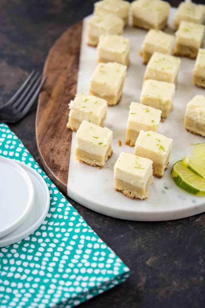 Crock-Pot Lime Cheesecake Bites