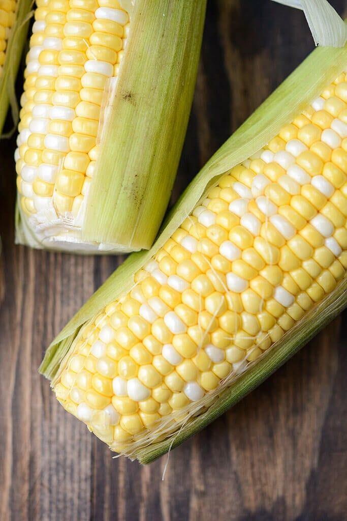 Fresh ears of corn - Slow Cooker Summer Corn Soup