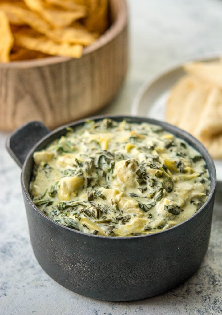 Slow Cooker Spinach and Artichoke Dip