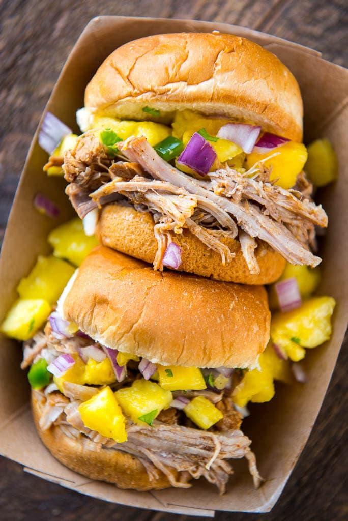 Caribbean Jerk Pulled Pork