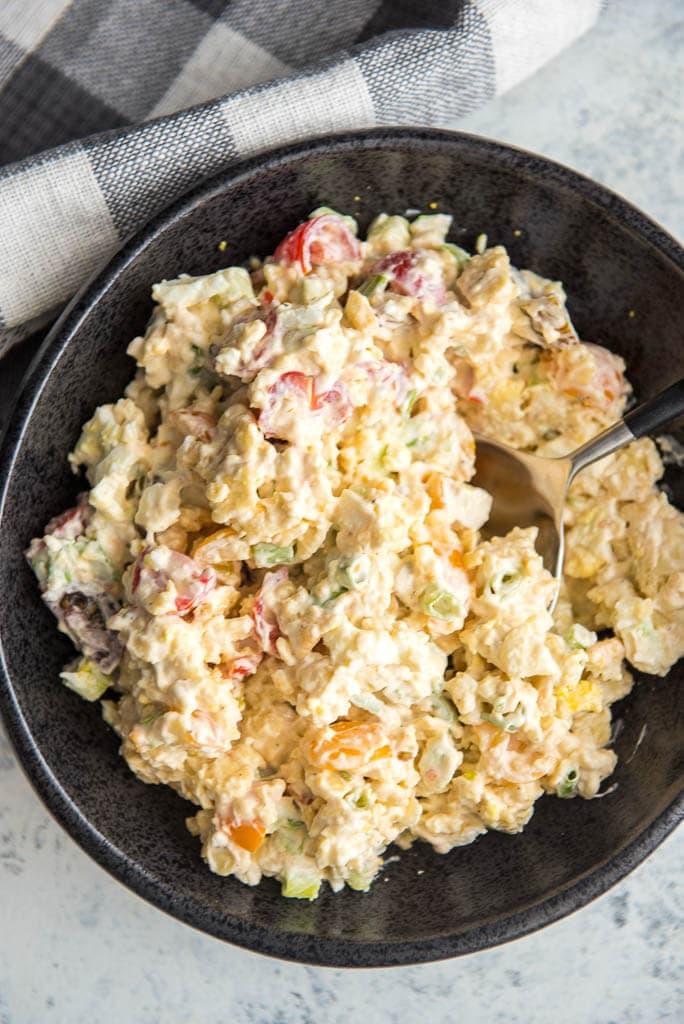 Saltine Cracker Salad + Dauphin Island - Slow Cooker Gourmet