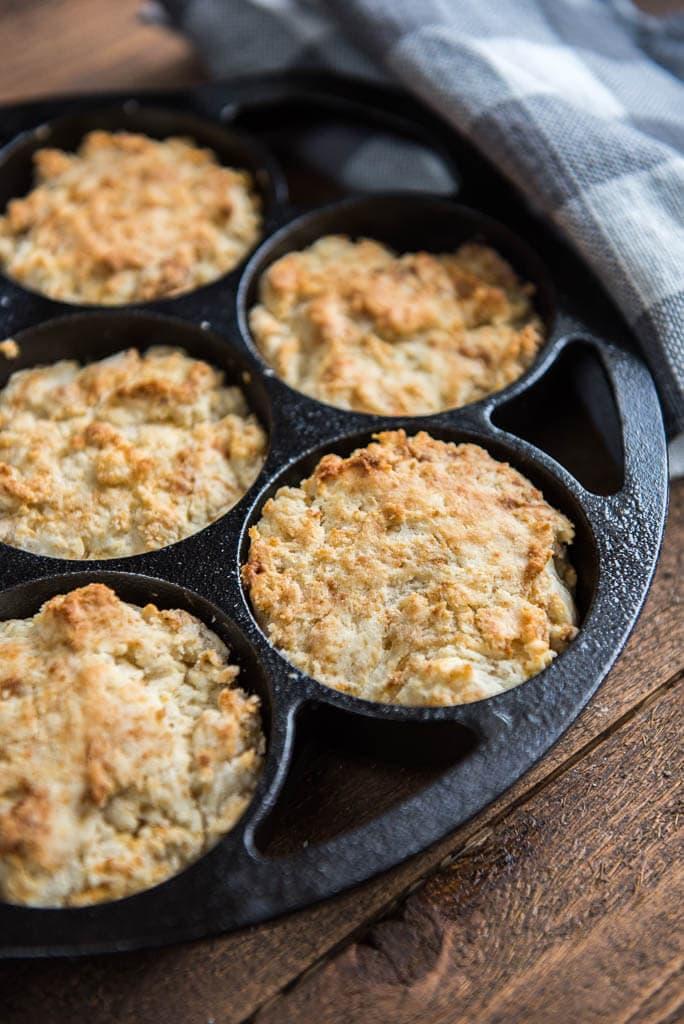Easy Buttermilk Drop Biscuits - Slow Cooker Gourmet