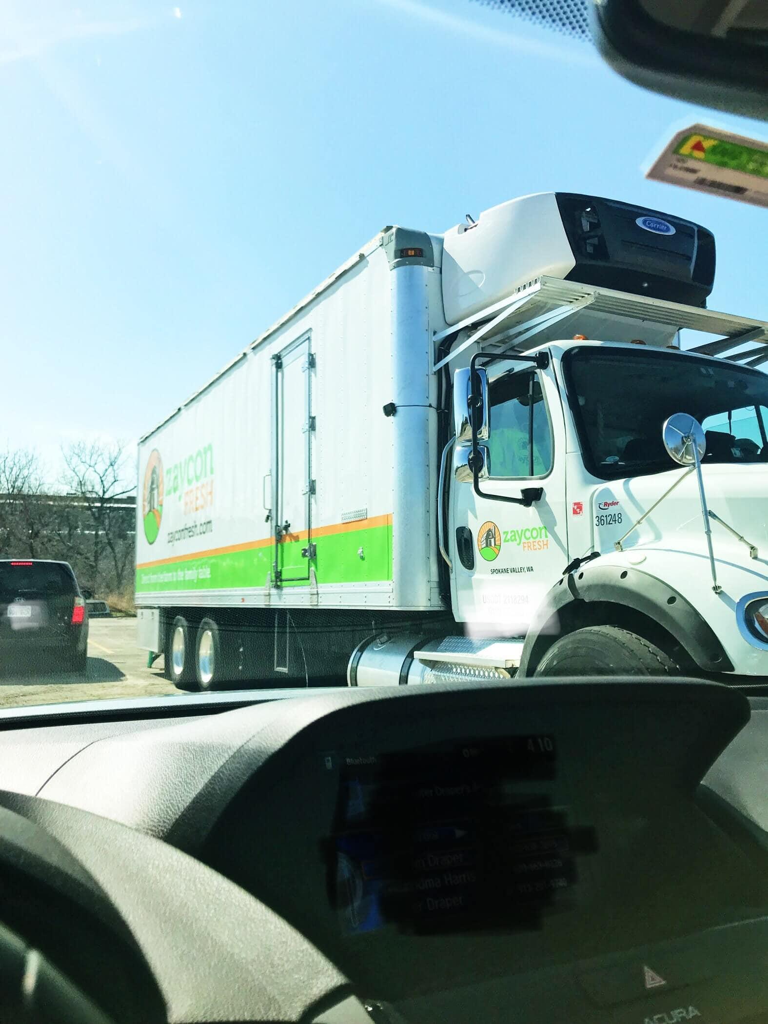 Zaycon Fresh Truck